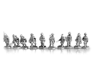 MLR Rifle Squad infantry or motorized infantry advancing