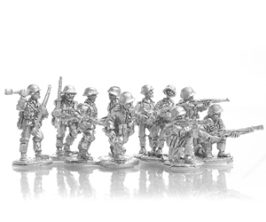 MLR Panzer Grenadier Squadand two LMG Teams