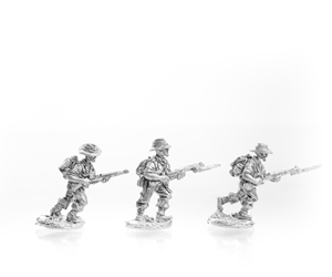 LRP Riflemen advancing